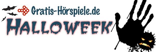 Die Gratis-Hoerspiele.de Halloweek. Bis Halloween am 31.10. jeden Tag ein kostenloses Grusel-Hörspiel oder Hörbuch!