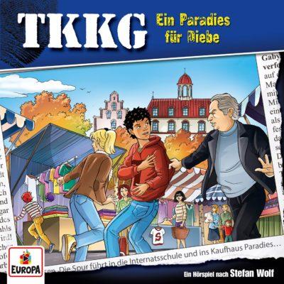 TKKG (202) – Ein Paradies für Diebe