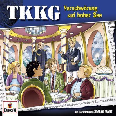 TKKG (204) – Verschwörung auf hoher See