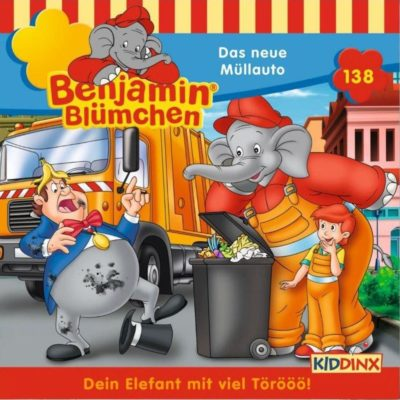 Benjamin Blümchen (138) – Das neue Müllauto