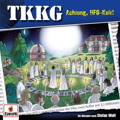 TKKG (206) – Achtung, UFO-Kult!