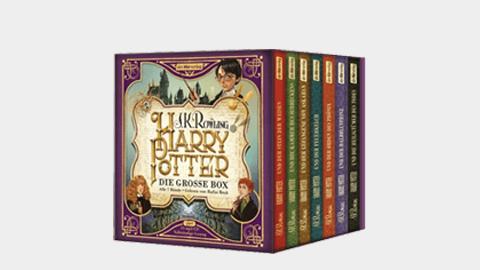 Harry Potter – Alle 7 Hörbücher für nur 52,69 Euro