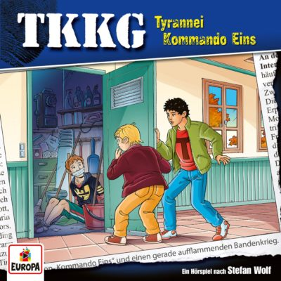TKKG (212) – Tyrannei Kommando Eins
