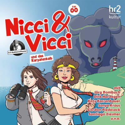 Nicci & Vicci und das Karpatenkalb | hr2 Hörspiel-Persiflage
