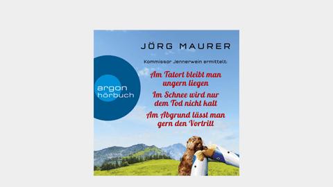 Weltbild: 3 Alpenkrimis von Jörg Maurer für nur 13,99 Euro