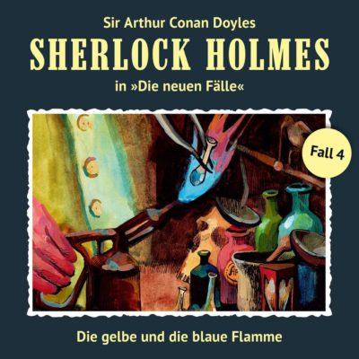 Sherlock Holmes: Die neuen Fälle (04) – Die gelbe und die blaue Flamme