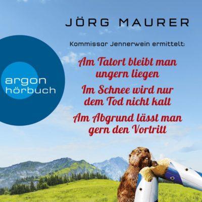 3 Alpenkrimis von Jörg Maurer für nur 13,99 Euro