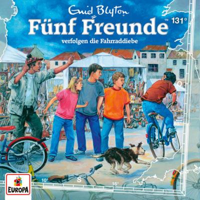 Fünf Freunde (131) – verfolgen die Fahrraddiebe