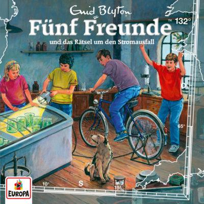 Fünf Freunde (132) – und das Rätsel um den Stromausfall