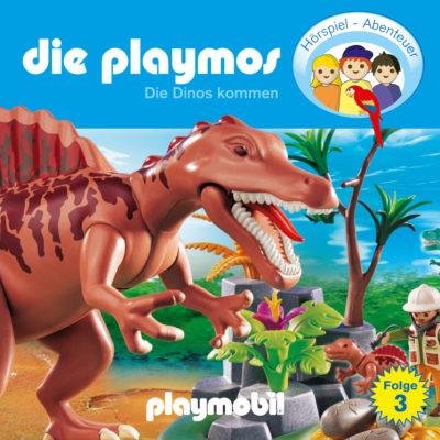 Die Playmos (03) – Die Dinos kommen
