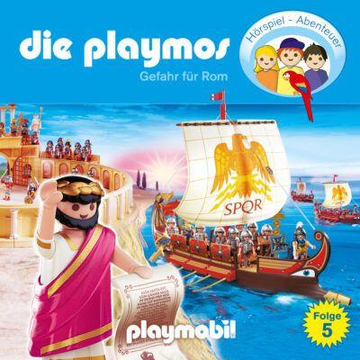 Die Playmos (05) – Gefahr für Rom