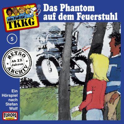 TKKG (005) – Das Phantom auf dem Feuerstuhl