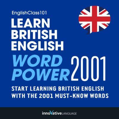 Learn British English – Word Power 101
