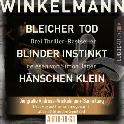 3 Thriller von Andreas Winkelmann für nur 13,99 Euro