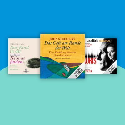 3 Audible-Hörbücher gratis für Amazon-Prime-Mitglieder
