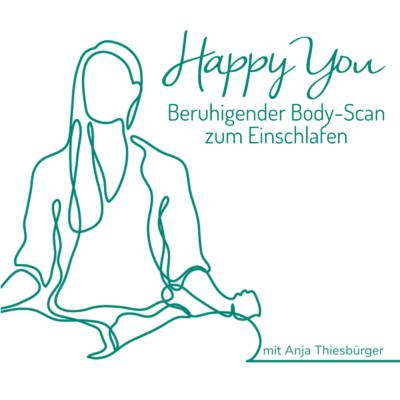 Beruhigender Body-Scan zum Einschlafen   Meditation mit Anja Thiesbürger