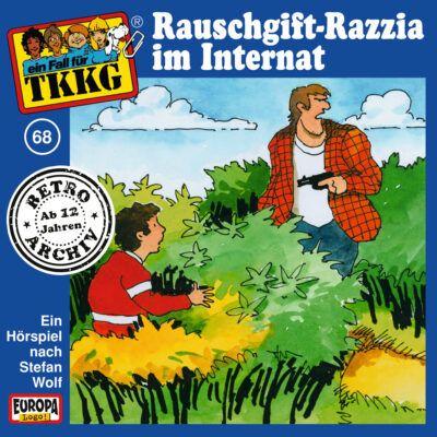 TKKG (068) – Rauschgift-Razzia im Internat